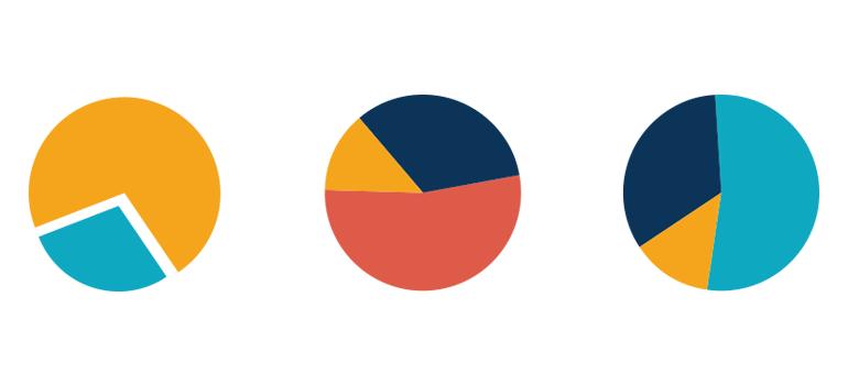 Illustratorで円グラフを作る方法